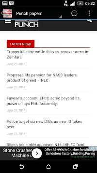 NIGERIA NEWS APK screenshot 1
