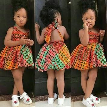 Kids Ank Short Dress Styles. APK screenshot 1