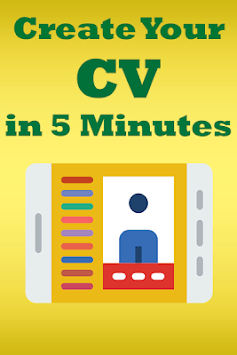 CV Examples – Free Resume App APK screenshot 1