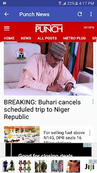 Nigerian News APK screenshot 1