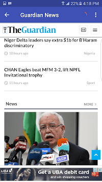 Nigerian News APK screenshot 1