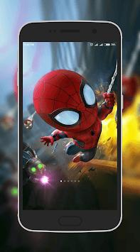 Superheroes Wallpaper APK screenshot 1