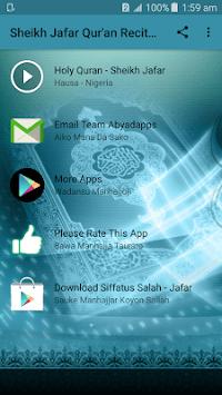 Sheik Jaafar Full Holy Qur'an Recitation Offline APK screenshot 1