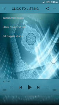 Punishment & Black Magic Ruqyah shariah mp3 APK screenshot 1