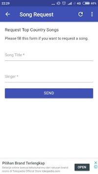 Top Country Songs APK screenshot 1