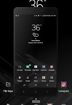 BLACK Wallpaper APK screenshot 1