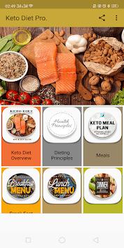 100 Keto Diet Meals APK screenshot 1