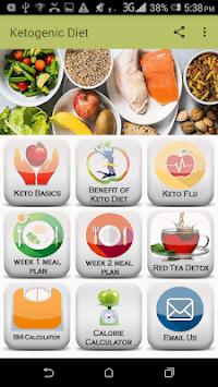 Ketogenic Diet APK screenshot 1