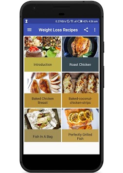 Staple Weight Loss Recipes (Offline) APK screenshot 1