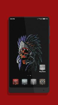 Skeleton Skull Art Wallpaper APK screenshot 1