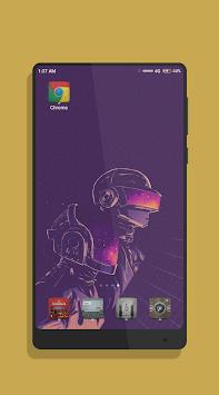 Retrowave Wallpaper APK screenshot 1
