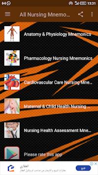 All Nursing Mnemonics & Tips. APK screenshot 1