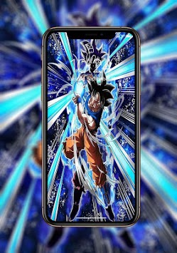 Ultra Instinct Art Wallpaper APK screenshot 1