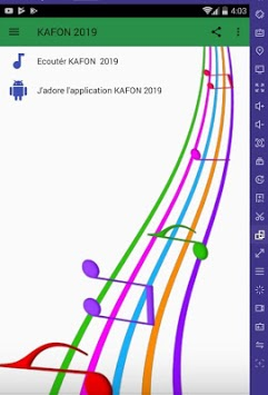 KAFON 2019   (kafon) APK screenshot 1