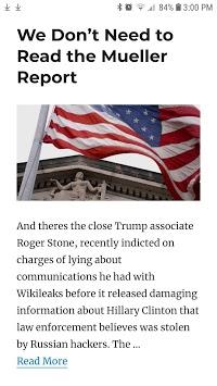 Mueller Report News & Analysis APK screenshot 1