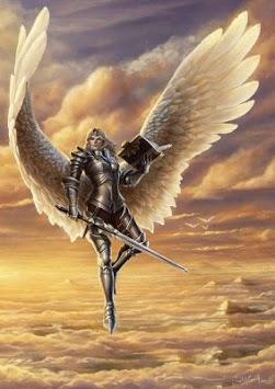 Angel Warrior Wallpapers APK screenshot 1