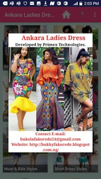 ANKARA LADIES DRESS STYLES 2019 APK screenshot 1