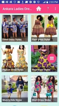 ANKARA LADIES DRESS STYLES 2019 APK screenshot 1