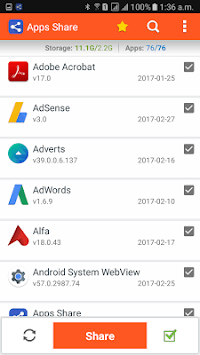 Apps Share APK screenshot 1