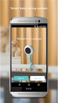 Lollipop - Smart baby monitor APK screenshot 1