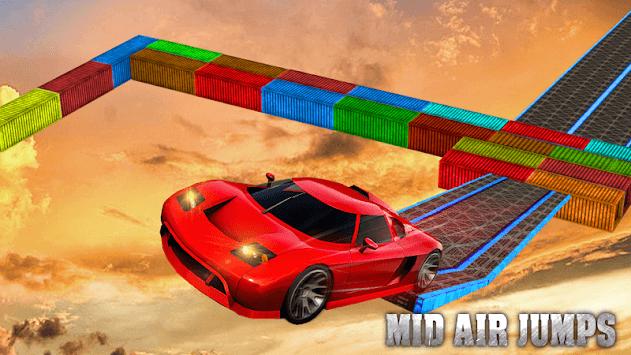 Crazy Car Impossible Track Racing Simulator APK screenshot 1