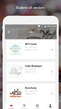 Akalati - Catering and Food Delivery APK screenshot 1