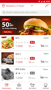 Chefflavours: Express Food Delivery APK screenshot 1