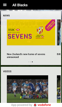 All Blacks Official APK screenshot 1