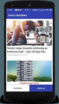 eNewsVault APK screenshot 1