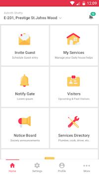 NoBrokerHood Visitor Gate & Security Management APK screenshot 1