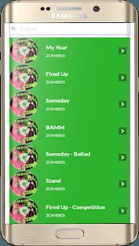 Zombies Songs Soundtrack and Lyric Offline APK screenshot 1