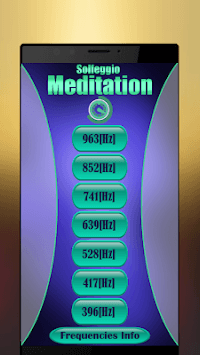 Solfeggio Frequencies : Chakra Healing APK screenshot 1