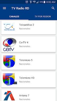TV Radio RD - Television and Radio Dominican APK screenshot 1