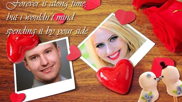 Romantic Love Photo Frames APK screenshot 1