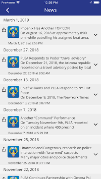 Phoenix Law Enforcement Assn APK screenshot 1