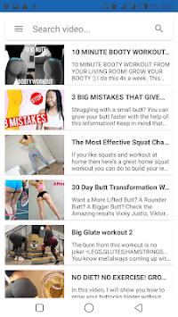 Big Buttocks Exercise - Hips, Legs & Butt Workout APK screenshot 1
