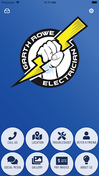Garth Rowe Electrician APK screenshot 1