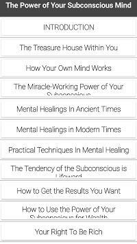 The Power of Your Subconscious Mind -Joseph Murphy APK screenshot 1