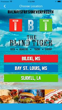 The Blind Tiger APK screenshot 1