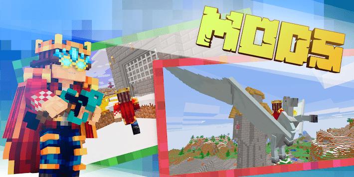 MOD-MASTER for Minecraft PE (Pocket Edition) Free APK screenshot 1