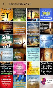 Textos bíblicos con imágenes - Citas bíblicas APK screenshot 1