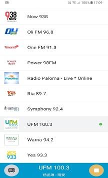 Singapore Radio #1 APK screenshot 1