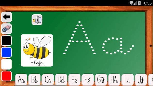 Aprender a leer y escribir APK screenshot 1