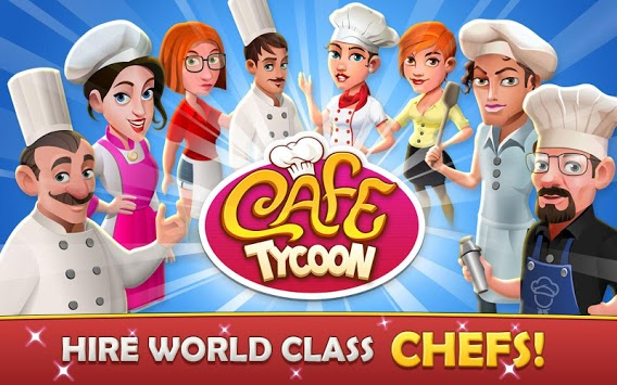 Cafe Tycoon – Cooking & Restaurant Simulation game APK screenshot 1