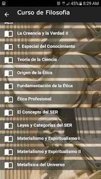 Philosophy Course APK screenshot 1