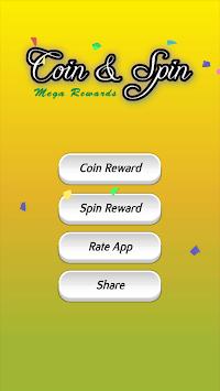 Coin and Spin : Mega Rewards 2019 APK screenshot 1