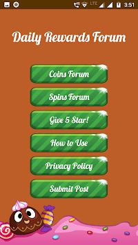 Spins and coins Rewards Forum APK screenshot 1