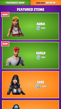 Daily Item Shop - Battle Royale Shop 2019 APK screenshot 1