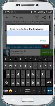 Classic Big Keyboard APK screenshot 1
