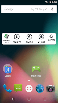 DolarHoy Widget Venezuelan news and Exchange Rates APK screenshot 1